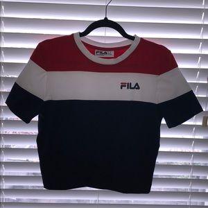 Fila ladies crop top tshirt